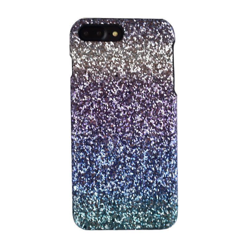 Plastový kryt na iPhone 7/8 Plus Silver Sparkling