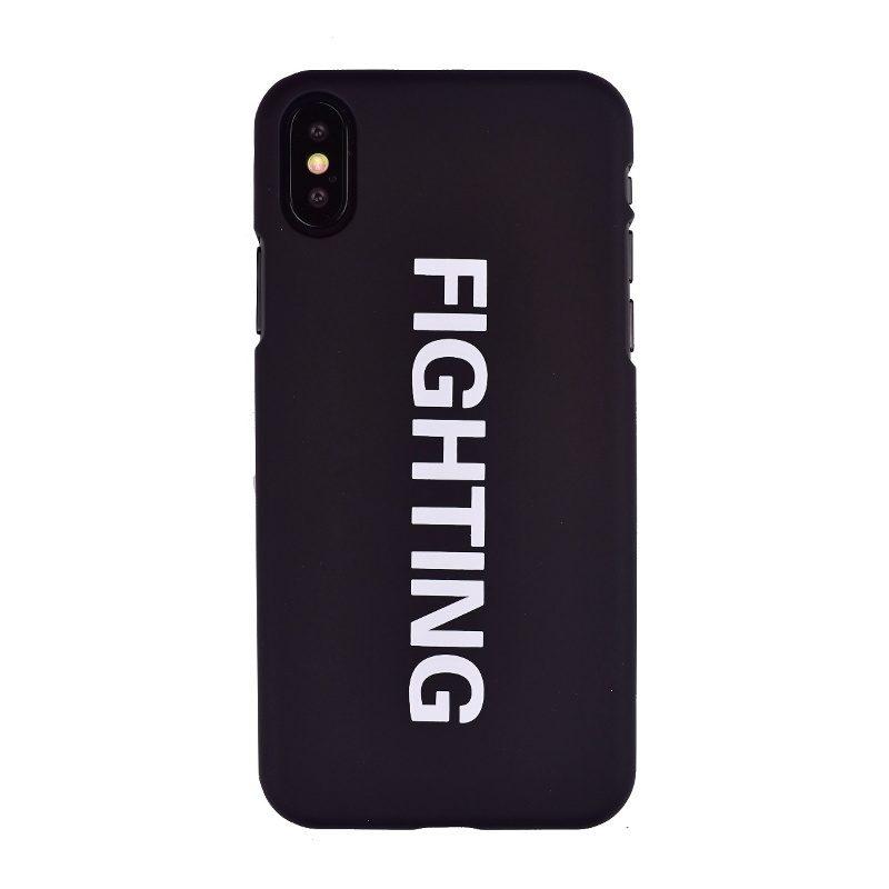 Plastový kryt na iPhone X/XS Fighting