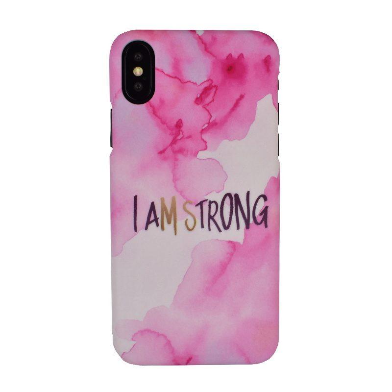 Plastový kryt na iPhone X/XS - strong
