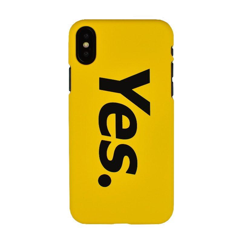 Plastový kryt na iPhone X/XS - yes