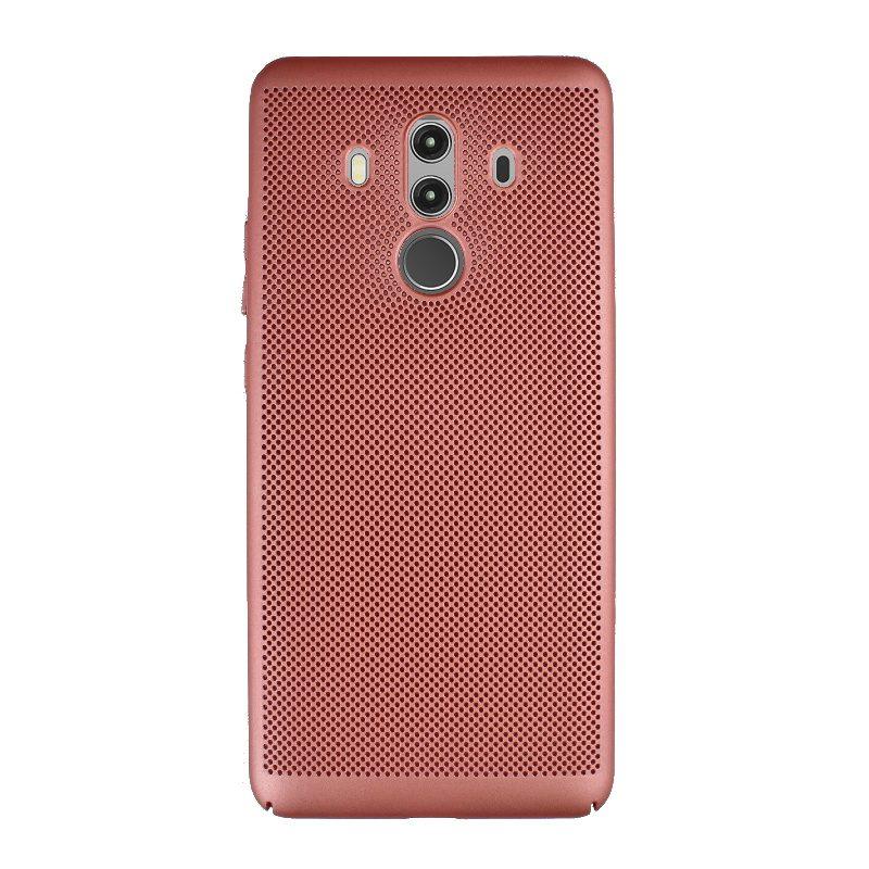 Plastový kryt na Huawei Mate 10 Pro dierkovaný Rose Gold
