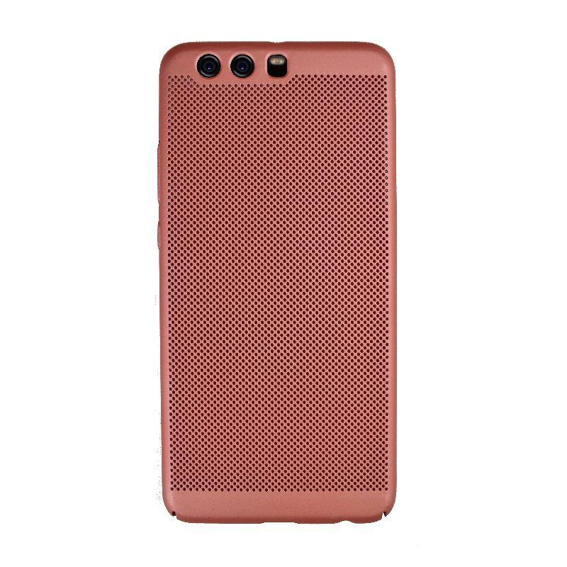 Plastový kryt na Huawei P10 Plus dierkovaný Rose Gold