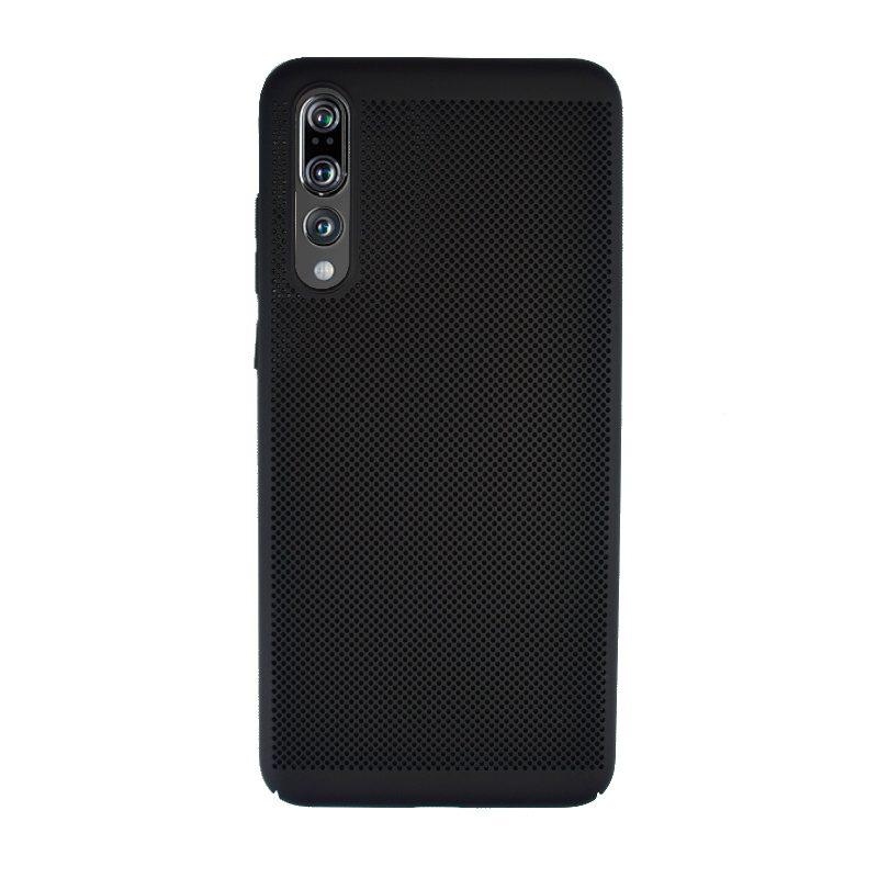 Plastový kryt na Huawei P20 Pro dierkovaný Black