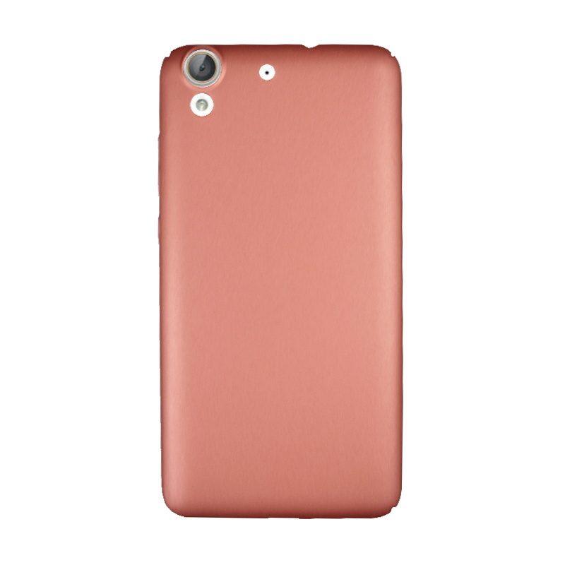 Plastový kryt na Huawei Y6 II Rose Gold