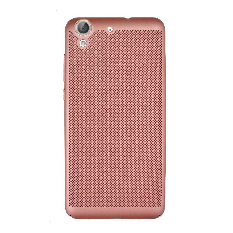 Plastový kryt na Huawei Y6 II dierkovaný Rose Gold