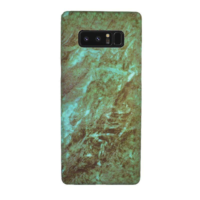 Plastový kryt na Samsung Galaxy Note 8 Green Marble