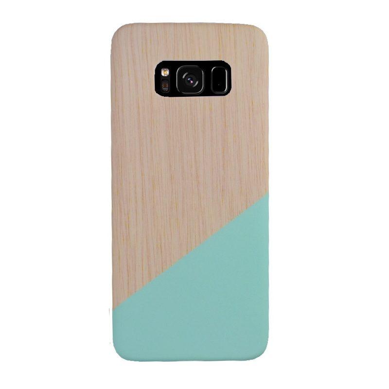 Plastový kryt na Samsung Galaxy S8 - tyrkysový