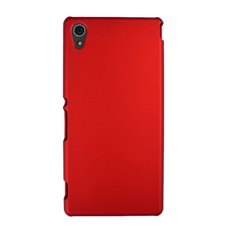Plastový kryt na Sony Xperia M4 Aqua Red