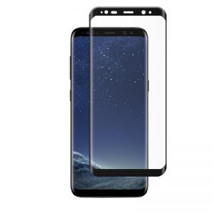 Samsung Galaxy S8 Plus ochranné 3D sklo - čierne