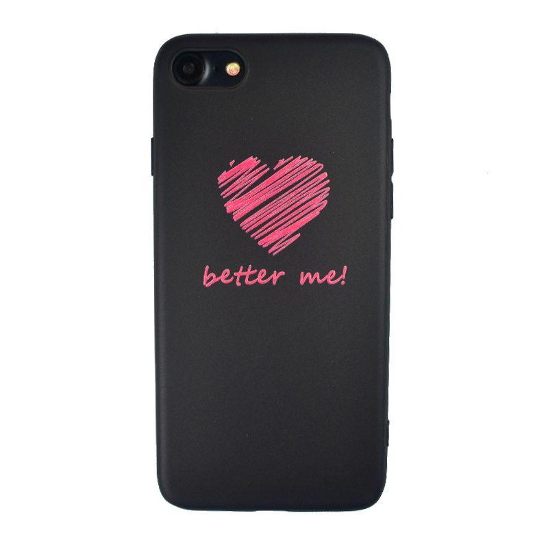 Silikónový kryt na iPhone 7/8/SE 2 Better Me
