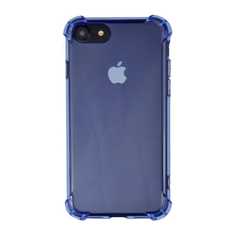 Silikónový kryt na iPhone 7/8/SE 2 s vystúženými hranami Blue
