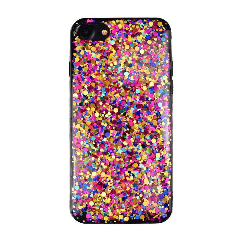 Silikónový kryt na iPhone 7/8/SE 2 Colors Sparkling