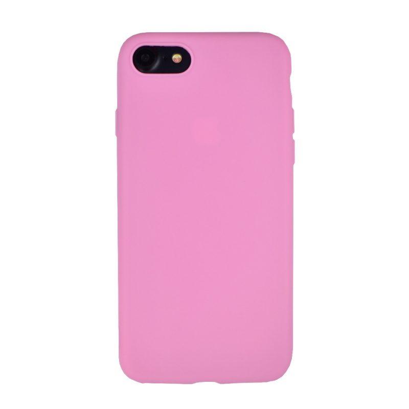 Silikónový kryt na iPhone 7/8/SE 2 Dark Pink