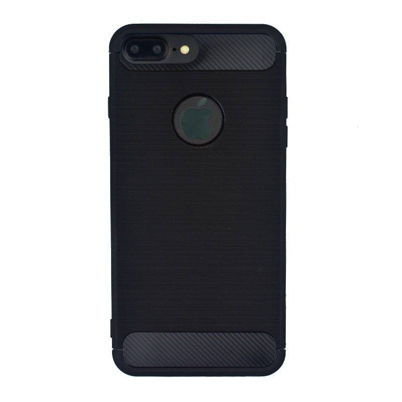 Silikónový kryt na iPhone 7/8 Plus Black Carbon