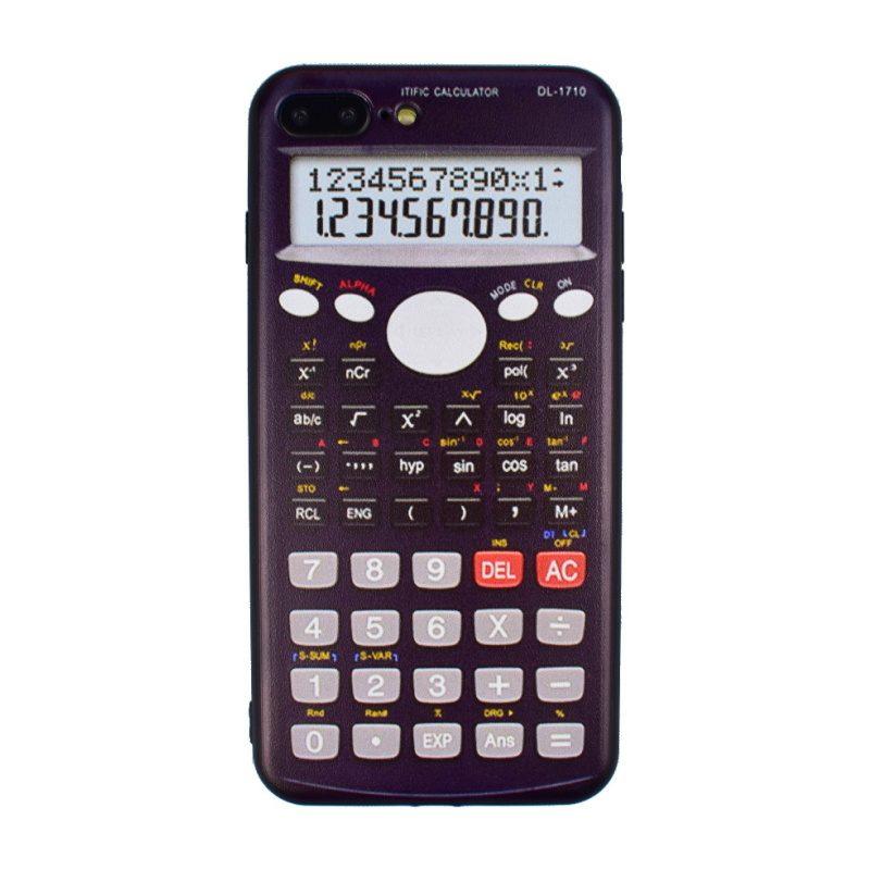 Silikónový kryt na iPhone 7/8 Plus Calculator