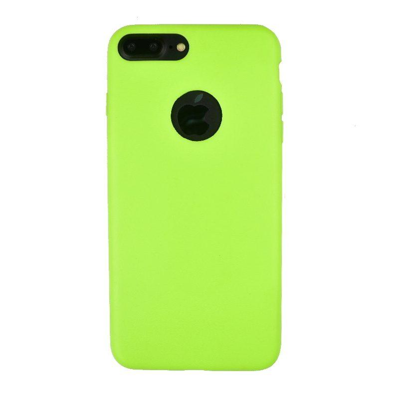 Apple iPhone 7/8 Plus silikónový kryt Green