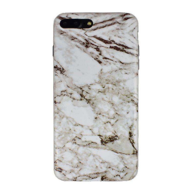 Silikónový kryt na iPhone 7/8 Plus Grey Marble