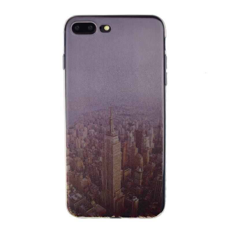 Silikónový kryt na iPhone 7/8 Plus New York