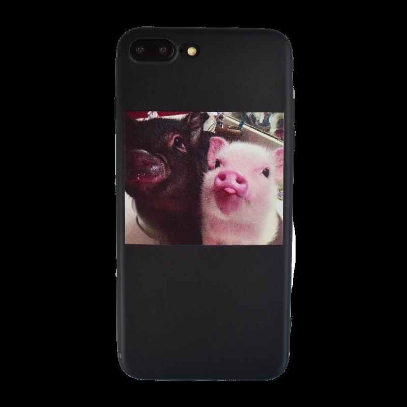 Silikónový kryt na iPhone 7/8 Plus Pigs