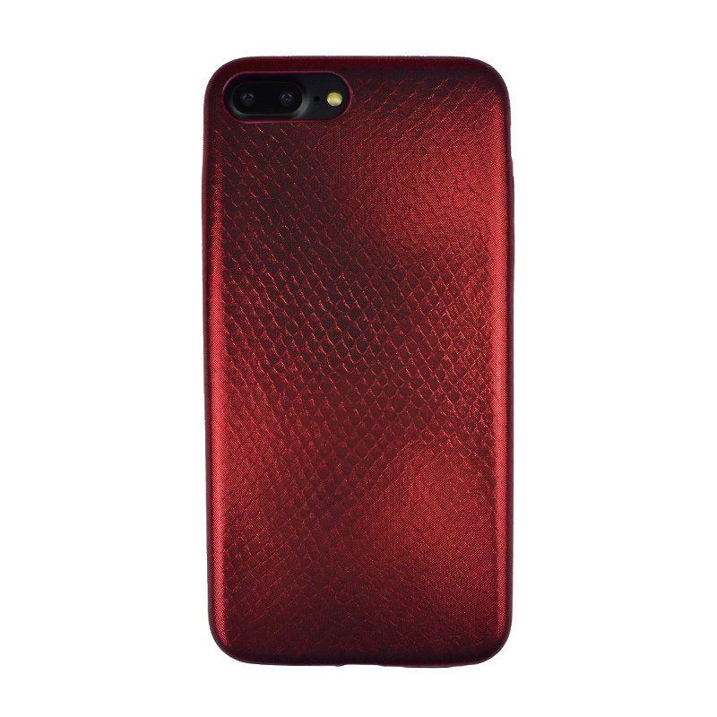 Silikónový kryt na iPhone 7/8 Plus Red Art