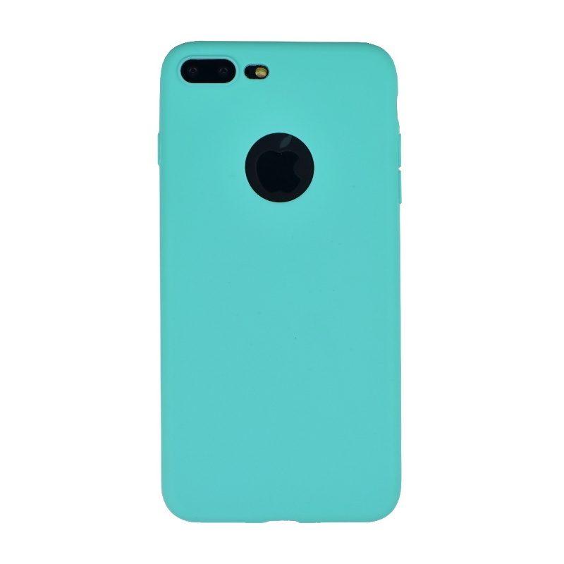 Silikónový kryt na iPhone 7/8 Plus- tyrkysový