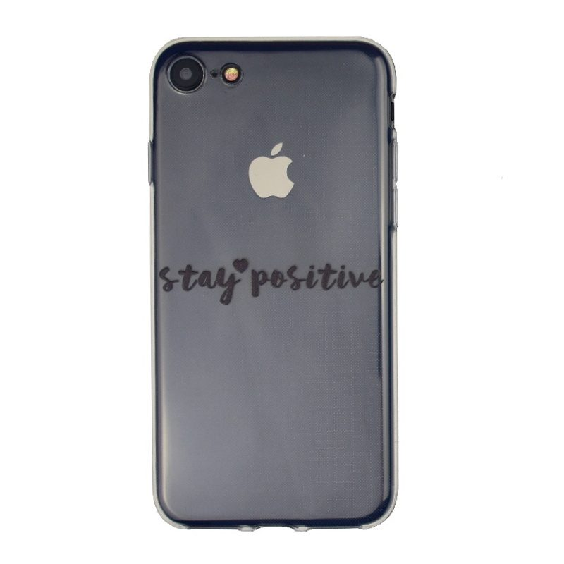 Silikónový kryt na iPhone 7/8/SE 2 Stay Positive