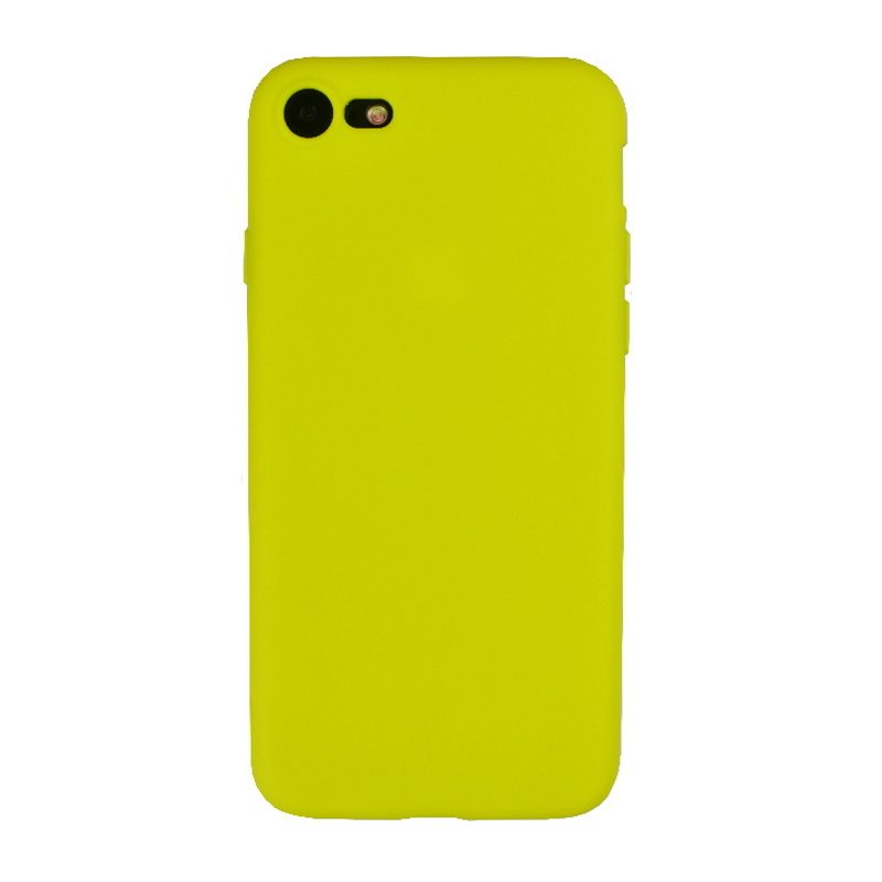Apple iPhone 7/8 silikónový kryt Yellow