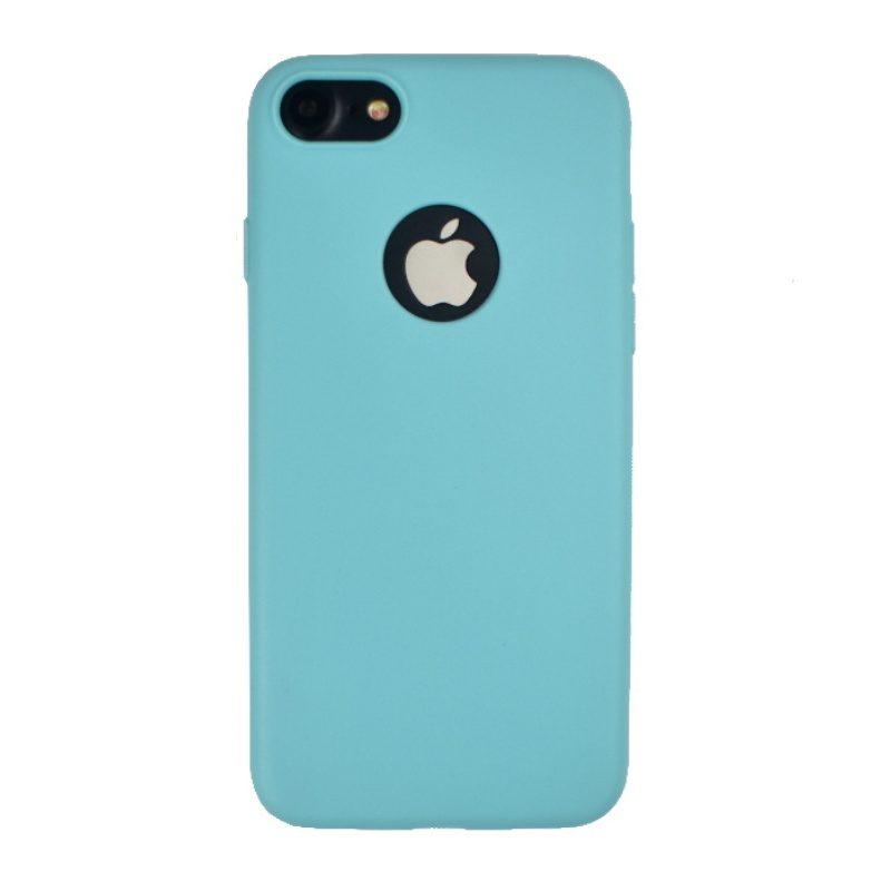 Silikónový kryt na iPhone 7/8/SE 2- tyrkysový