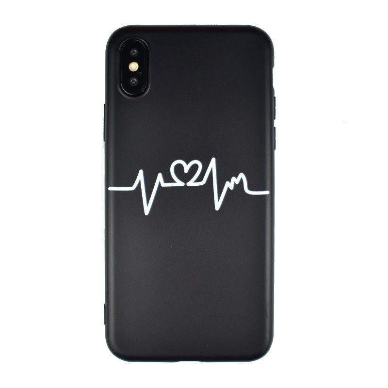 Silikónový kryt na iPhone X/XS - pulz
