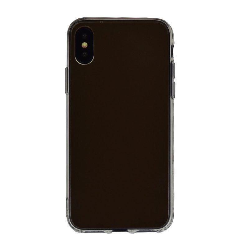 Silikónový kryt na iPhone X/XS zrkadlový