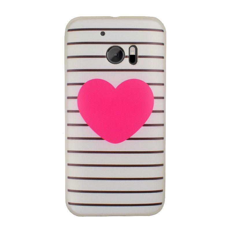 Silikónový kryt na HTC One M10 Big Heart