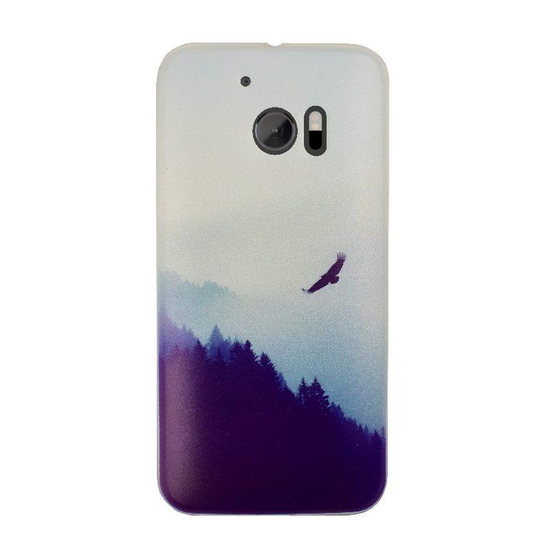 HTC One M10 silikónový kryt Forest 1