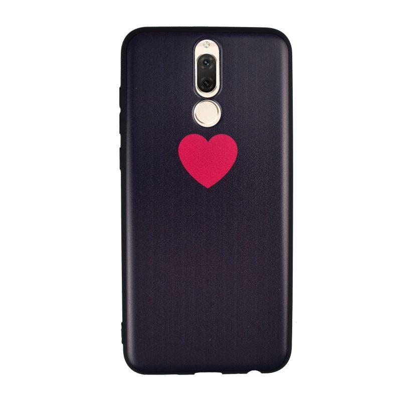 Silikónový kryt na Huawei Mate 10 Lite Black Heart