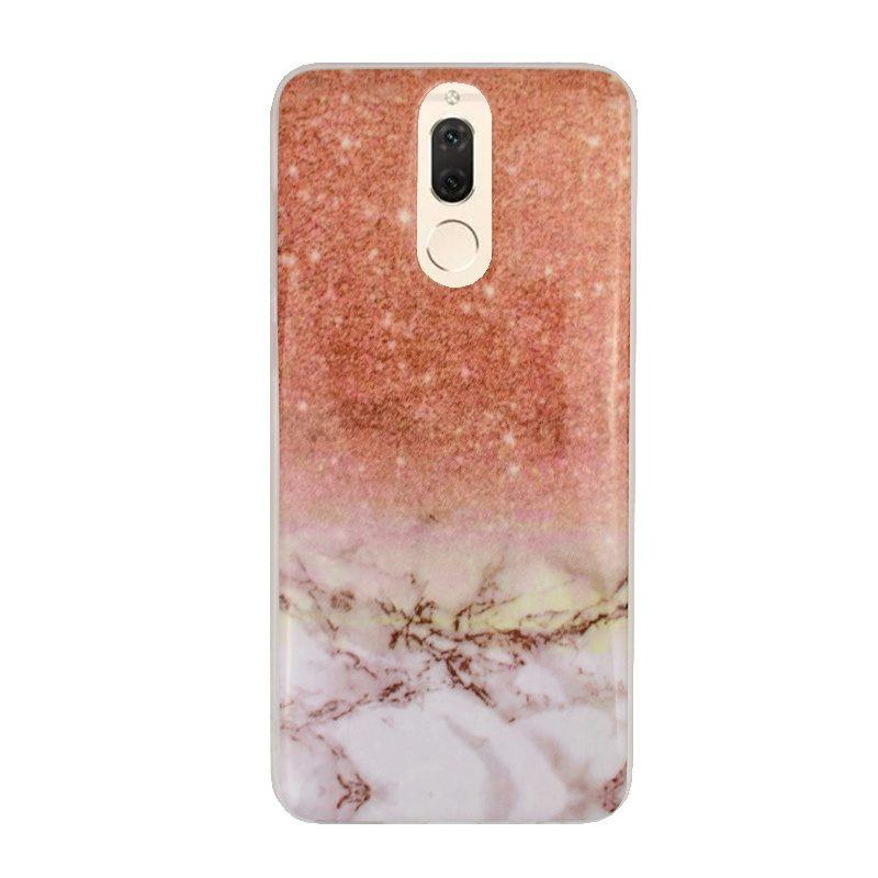 Huawei Mate 10 Lite silikónový kryt Gold Marble