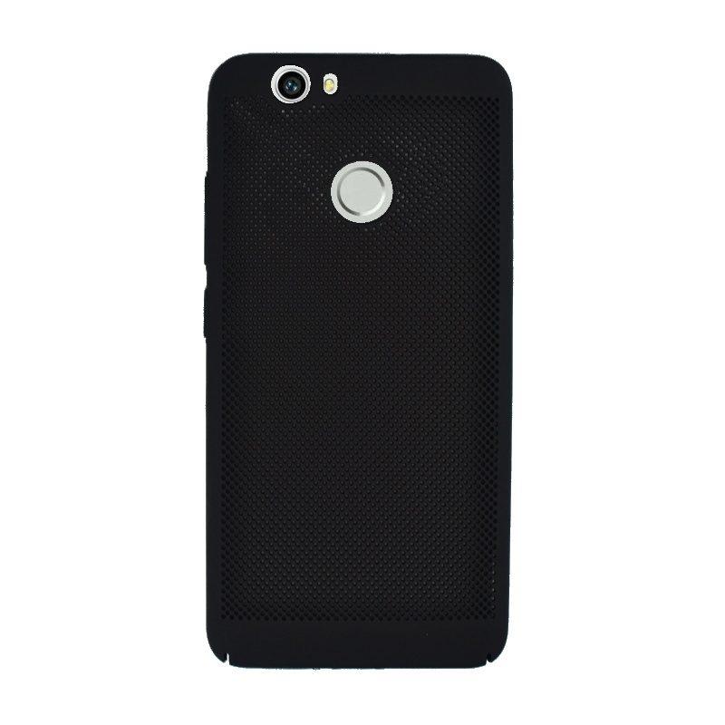 Plastový kryt na Huawei Nova dierkovaný Black