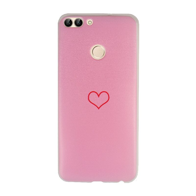Silikónový kryt na Huawei P Smart Pink Heart