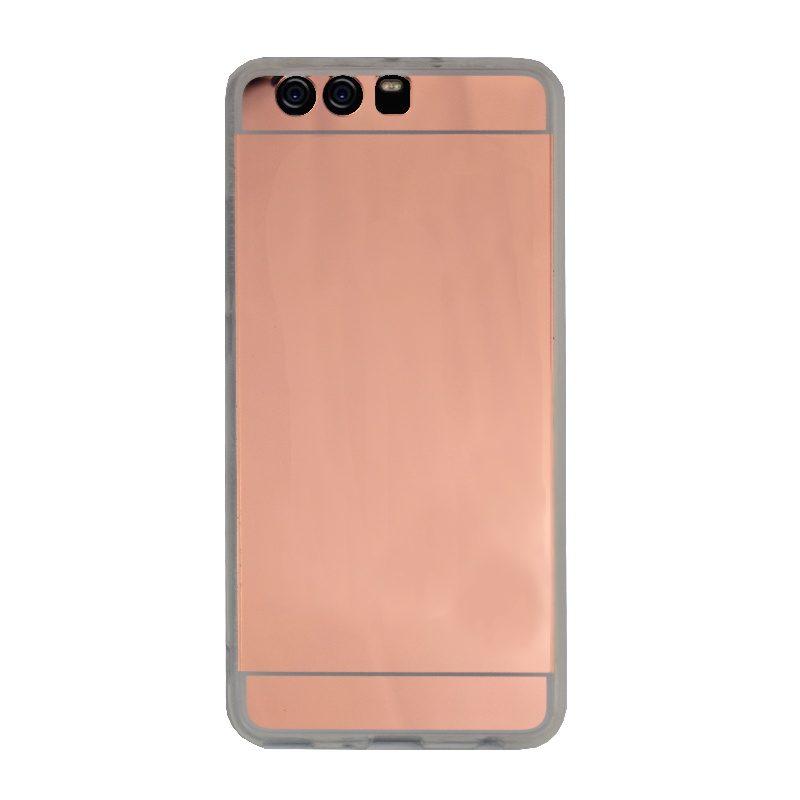 Silikónový kryt na Huawei P10 Plus zrkadlový Rose Gold