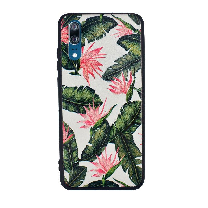 Silikónový kryt na Huawei P20 Flowers