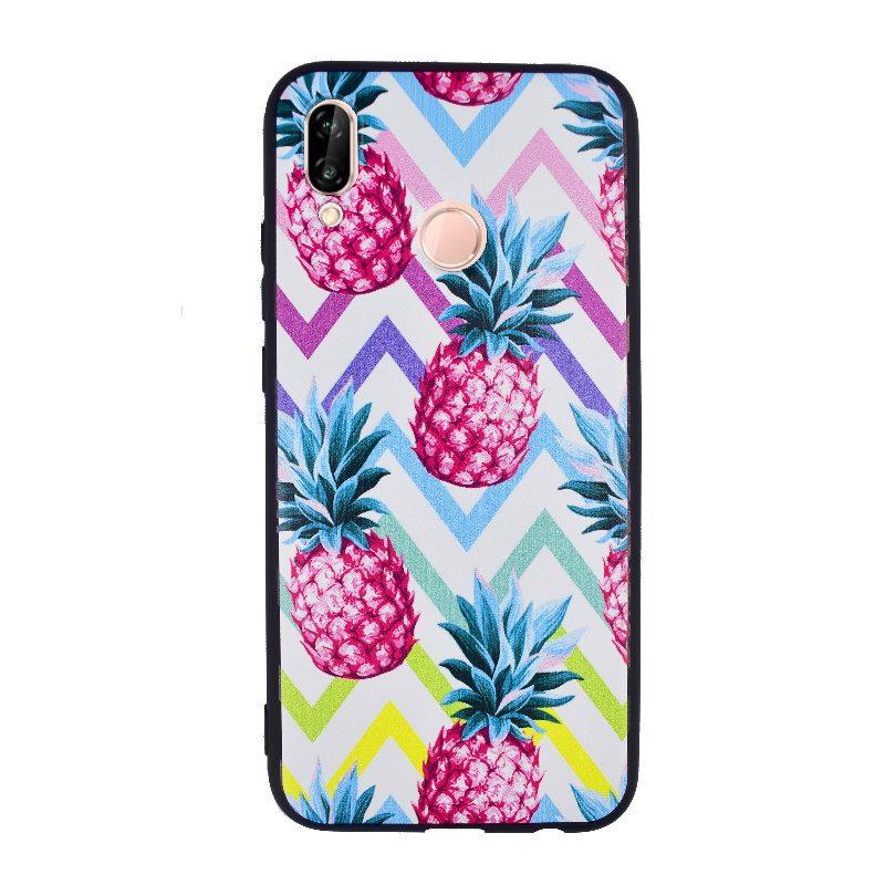 Silikónový kryt na Huawei P20 Lite- ananás