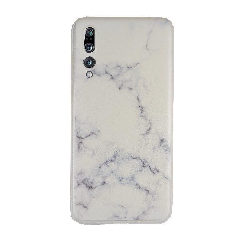 Silikónový kryt na Huawei P20 Pro White Marble
