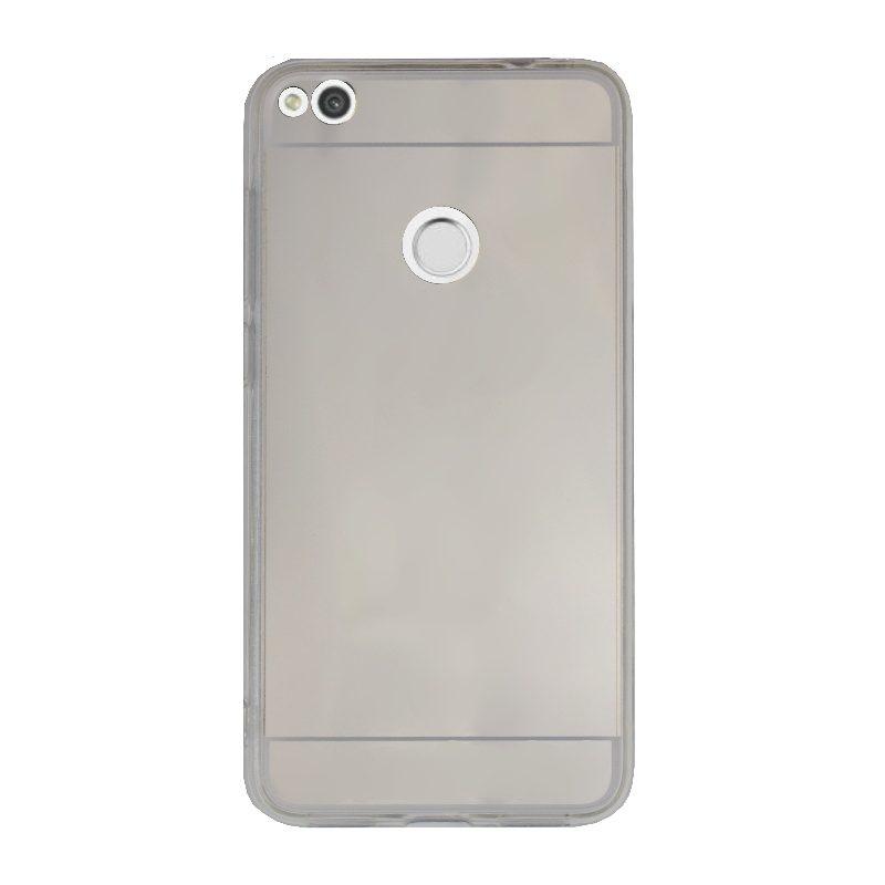 Silikónový kryt na Huawei P9 Lite/P8 Lite 2017 zrkadlový Silver