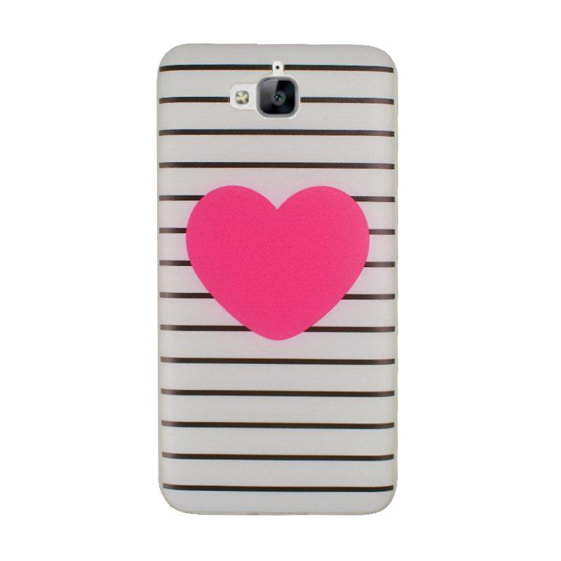 Huawei Y6 Pro silikónový kryt Big Heart