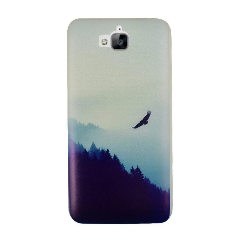 Huawei Y6 Pro silikónový kryt Forest