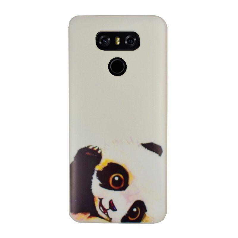 Silikónový kryt na LG G6 Panda