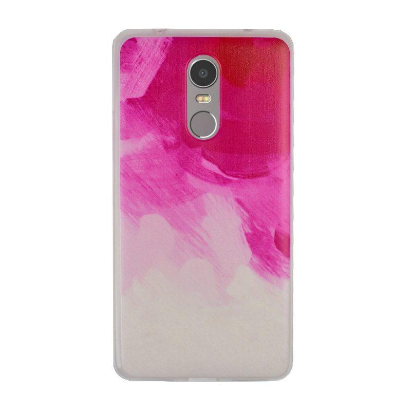 Silikónový kryt na Lenovo K6 Note Pink Art