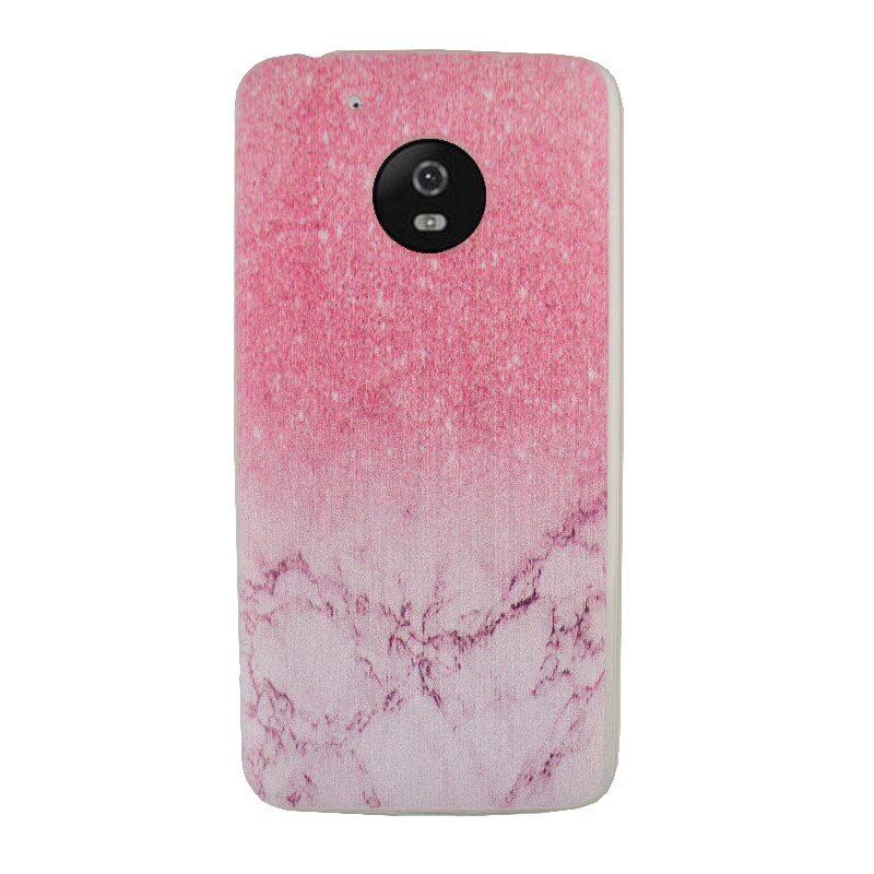 Silikónový kryt na Lenovo Moto G5 Pink