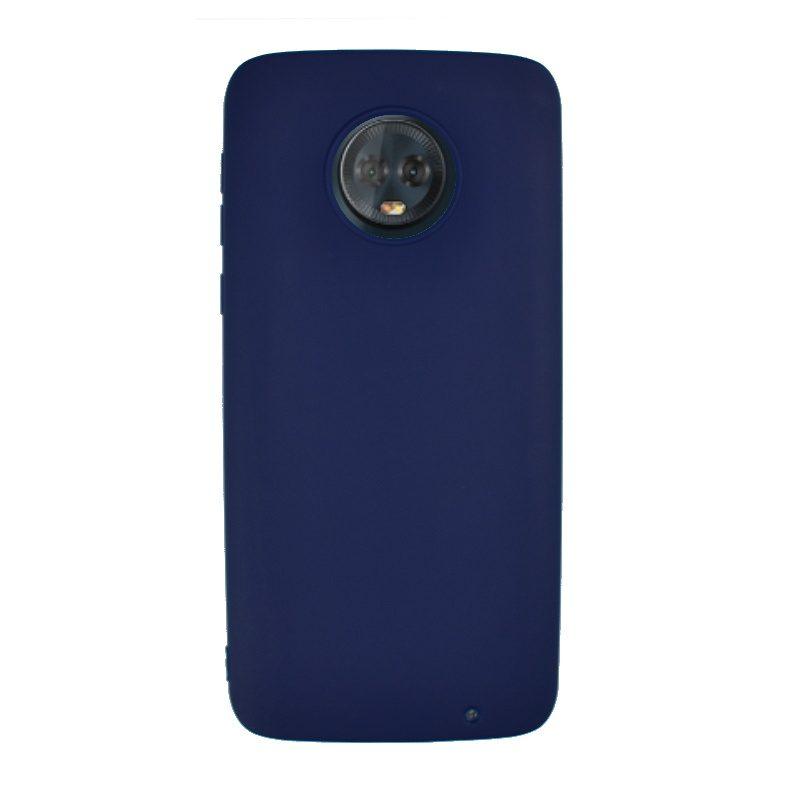 Silikónový kryt na Lenovo Moto G6 Plus Navy Blue