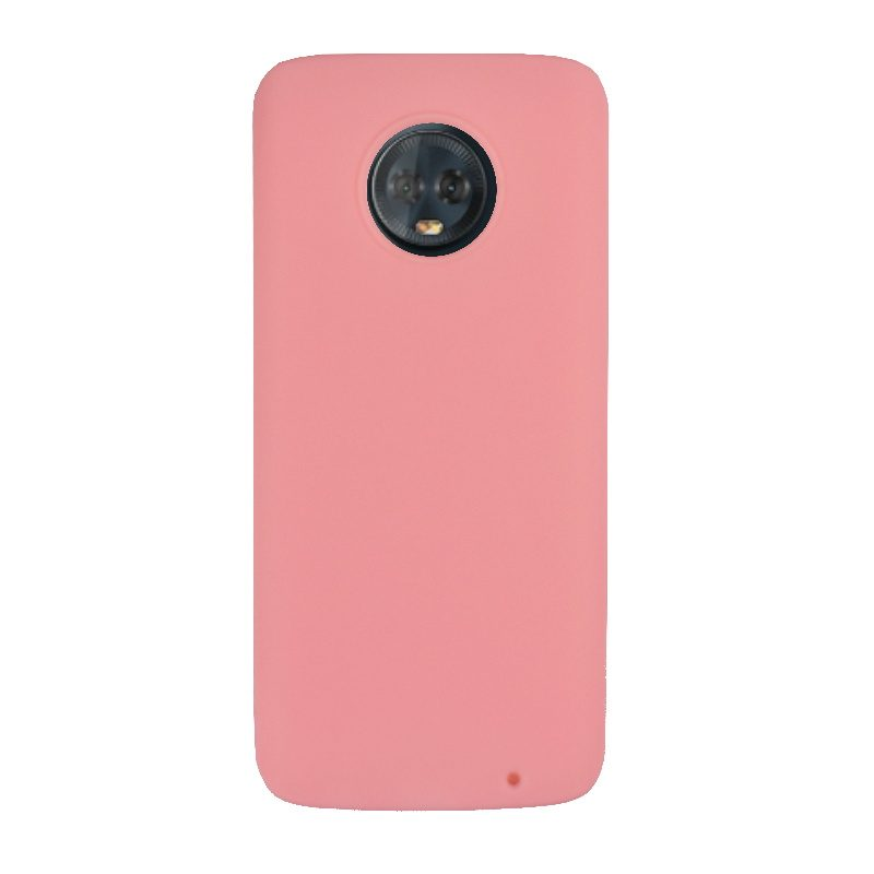 Silikónový kryt na Lenovo Moto G6 Plus Pink