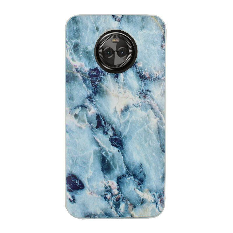 Silikónový kryt na Lenovo Moto X4 Blue Marble