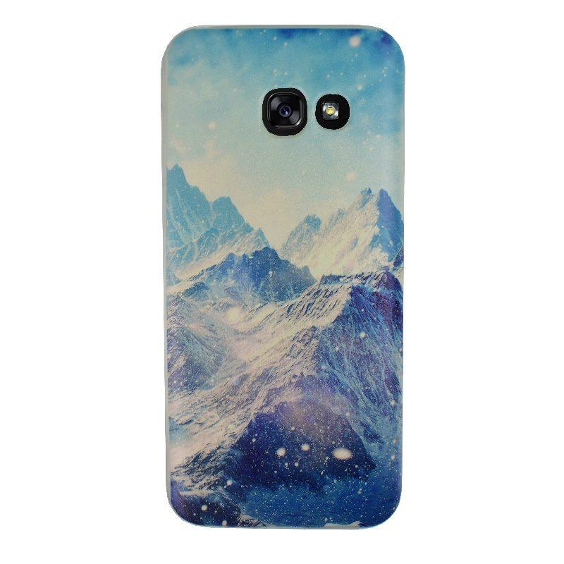 Silikónový kryt na Samsung Galaxy A3 2017 Mountains